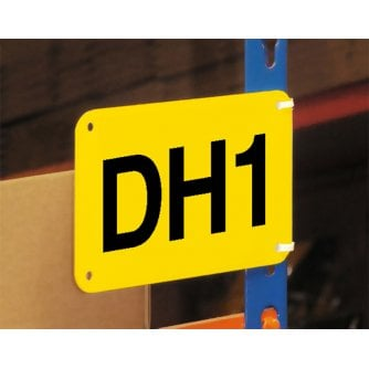 British Marker Signs for Bay or Aisle Marking 9 Sizes