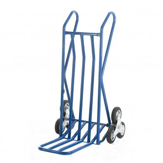 British Open Loop Handle Stairclimber with Open Folding Toe Solid Tyres 200kg Capacity