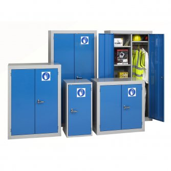 British Personel Protection or PPE Cabinets 915 to 1830mm High