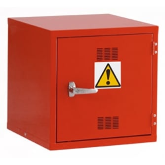 British Pesticide/Chemical Cube Storage Cabinets 457mm