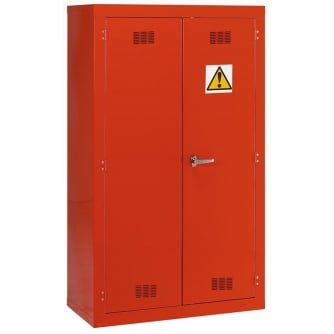 British Pesticide/Chemical Storage Cabinet 1525hx915wx457mmd