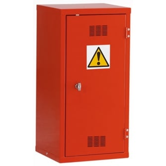 British Pesticide/Chemical Storage Cabinet 712hx355wx305mmd