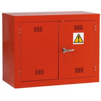 British Pesticide/Chemical Storage Cabinet 712hx915wx457mmd