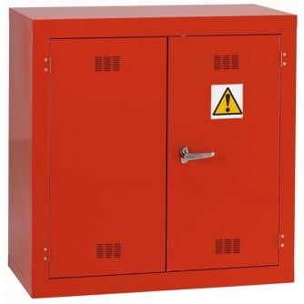 British Pesticide/Chemical Storage Cabinet 915hx915wx457mmd