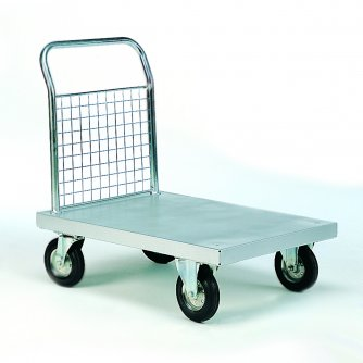 British Platform Truck - Series 700 Bright Zinc Plated 1000 x 600mm