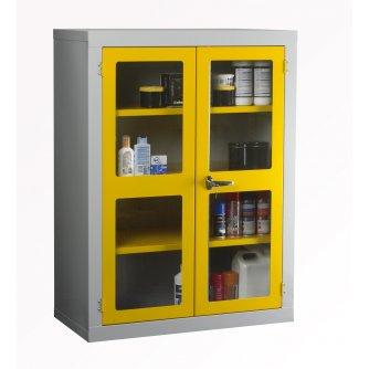 British Polycarbonate Door Cabinet 1220x915x457mm