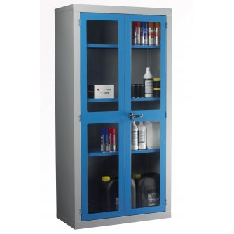 British Polycarbonate Door Cabinet 1830x915x457mm
