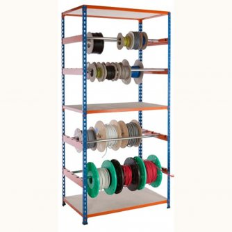British PQ500 Reel Racks - Blue and Orange 1000mm or 1980mm high