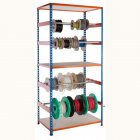 PQ500 Reel Racks - Blue and Orange 1000mm or 1980mm high
