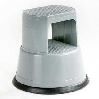 British Round Heavy Duty Plastic Kick Step or Kick Stool