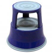 Round Steel Kick Step - Blue