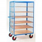 Shelf Truck with Mesh Superstructure