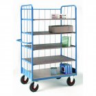 Shelf Truck with Rod Superstructure