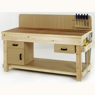 British Special Order Timber Workbench 1