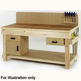 British Special Order Timber Workbenches 2