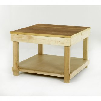 British Square Timber Workbenches 1200 x 1200mm