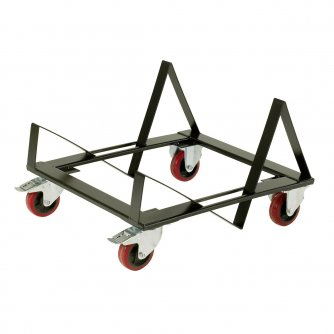 British Stacking Chair Trolley for Skid Based Chairs