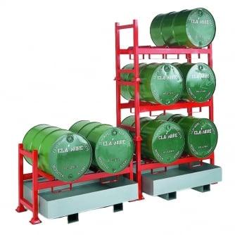 British Stacking Drum Pallet Unit for 2 Drums