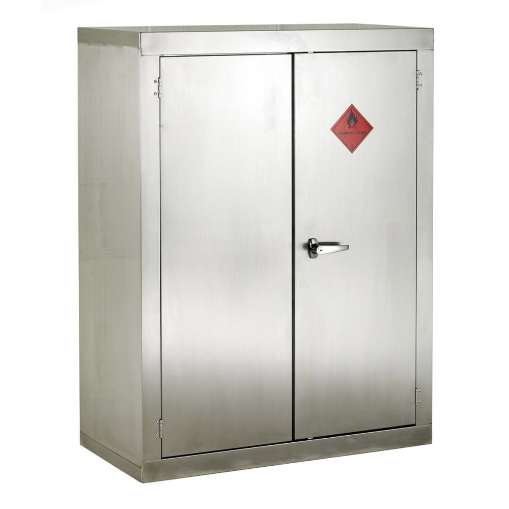 Stainless steel Flammable Storage Cabinet 915mmW x 1830mmH