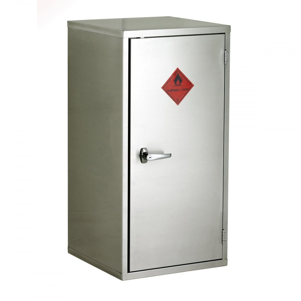 stainless steel storage cabinets stainless steel flammable storage cabinet 915mmw x 1830mmh 26651