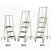 Stainless Steel Spring Loaded Mobile 3, 4 and 5 Steps Anti-Slip Treads