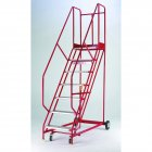 Standard Quality Red Range Mobile 5 Steps with Handlock Anchorage