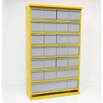 British System D 28 Drawer Cabinets System 1500h x 895w x 305 or 460dmm
