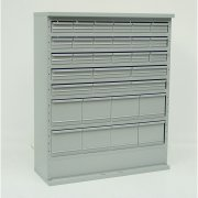 System D 32 Drawer Combination Cabinets 460mm W with Doors