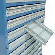 System D 90 Drawer Cabinets System 1600mm High