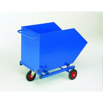 British Tilting Skip Bin with Perforated Base & Drain Tap