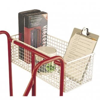 British Tool Tray or Wire Basket For Warehouse Mobile Safety Steps