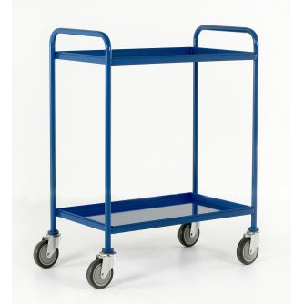 British Tray Trolleys Small & Large with 2 or 3 Trays