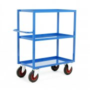 TT350 Series Heavy Duty Tray Trolleys with 3 Shelves 900 or 1200mm