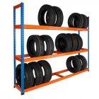 Tyre Rack 1980h x 1525w x 455d mm 3 Levels 200kg