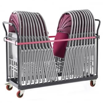 British Upright Chair Truck for Folding Chairs