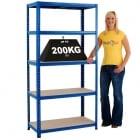 Value Shelving Capacity 200KG UDL