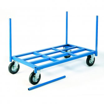 British Warehouse Stanchion Truck 500/100kgs Capacity