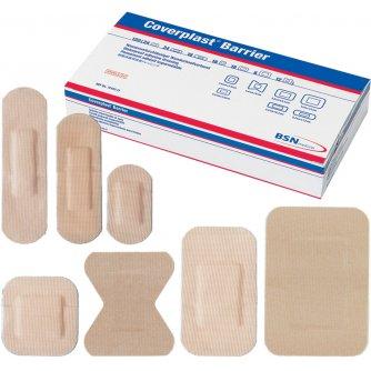 CoverPlast Barrier Waterproof Plasters, Assorted (Pack of 120)