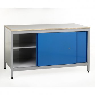 British Cupboard Workbenches 1200, 1500 or 1800mm wide
