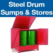 Steel Drum Sumps and Storage