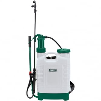 Draper 12 Litre Back Pack Garden Sprayer for Water or Chemicals