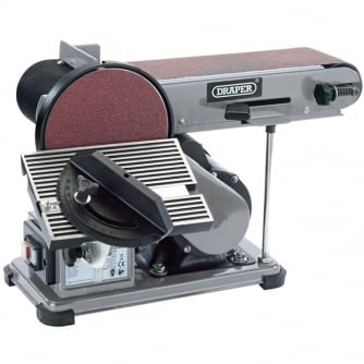Draper Bench Belt and Disc Sander 230V