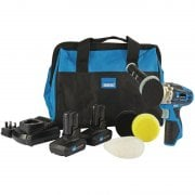 Mini Polisher Kit Storm Force® 10.8V with Power Interchange (+2 X 4Ah Batteries, Charger And Bag)