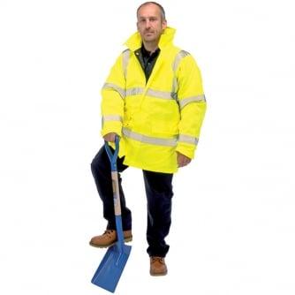 Draper Professional Hi Visibility Jacket to EN471 Class 3 & EN343 Class 3