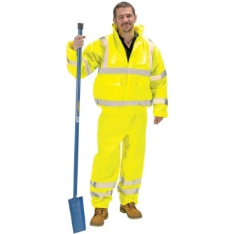 Draper Professional High Visibility Over Trousers - EN471 & EN343 Class 1