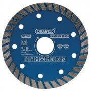 Turbo Diamond Blade Cutting Disc (115mm)