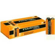 Duracell 9v Industrial Batteries PP3 (Box of 10)