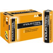 Duracell AA Industrial Batteries 1.5V MN1500 PC1500 LR6 ID1500 (Box of 10)