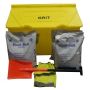 200 Litre Grit Bin with or without Salt and Accessories