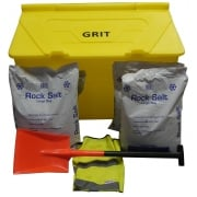 350 Litre Grit Bin - with or without accessories